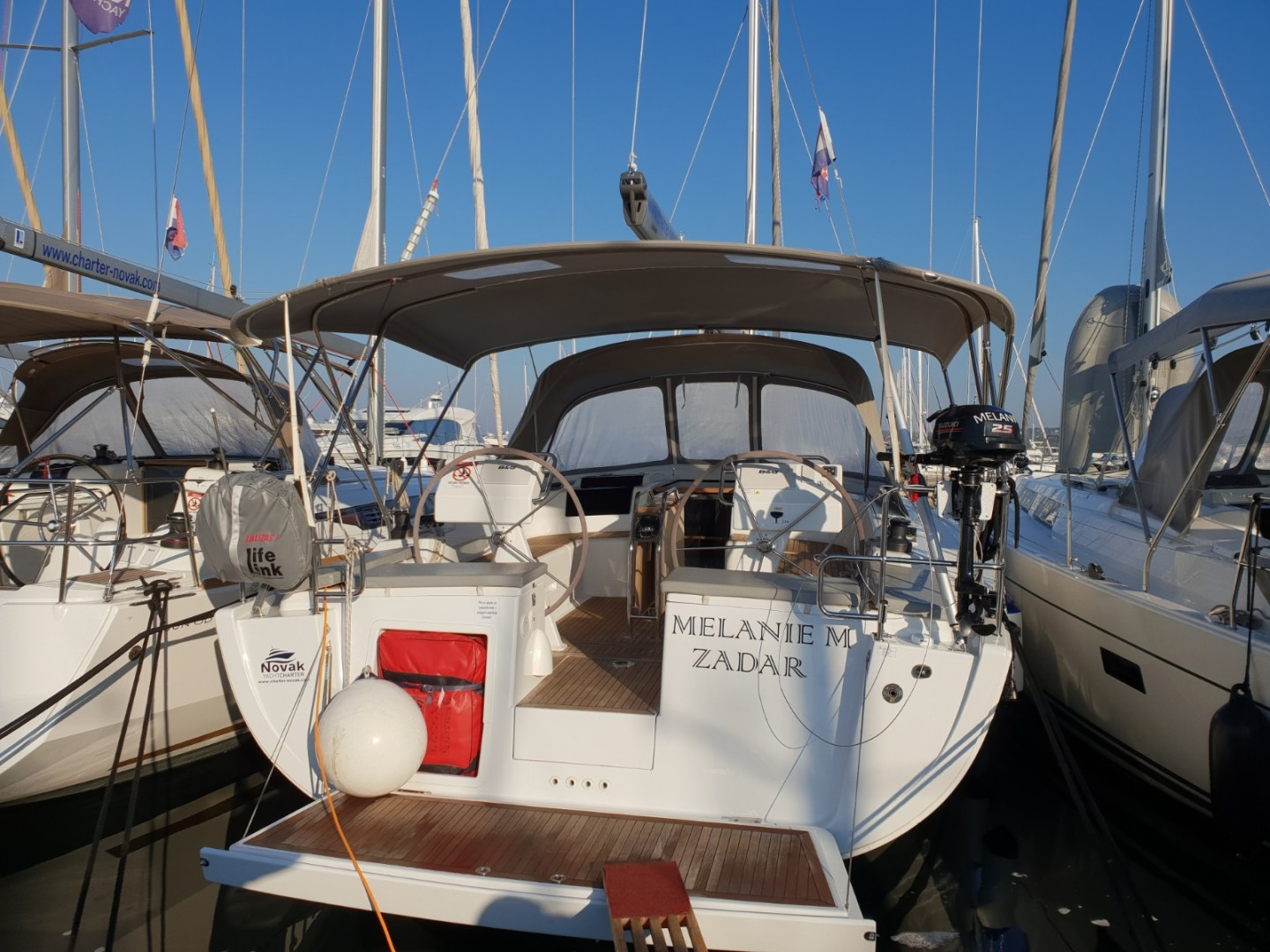 Hanse 455, MELANIE M, A/C - shore power only
