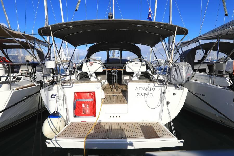 Hanse 458, Adagio, A/C - shore power only