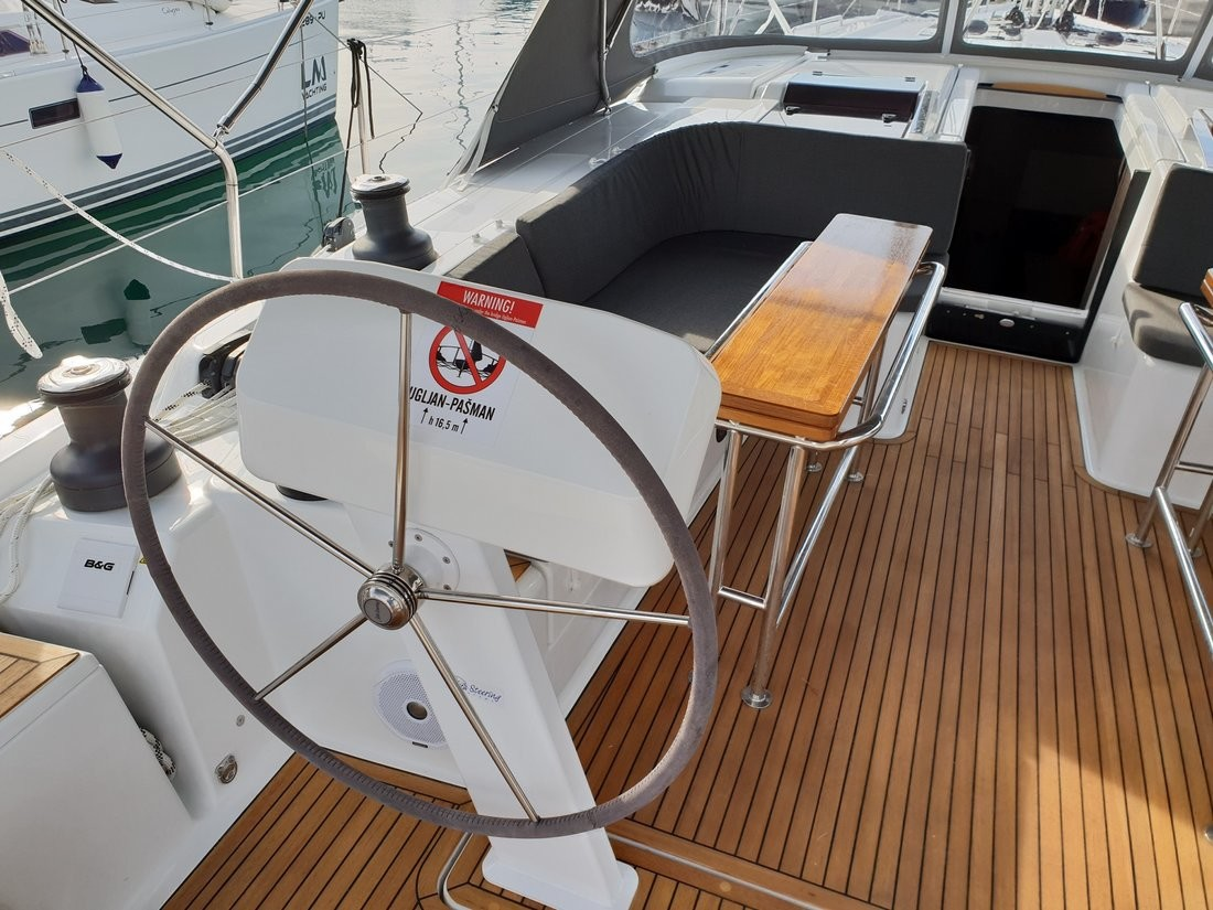 Hanse 508, Pegasus, A/C - shore power only