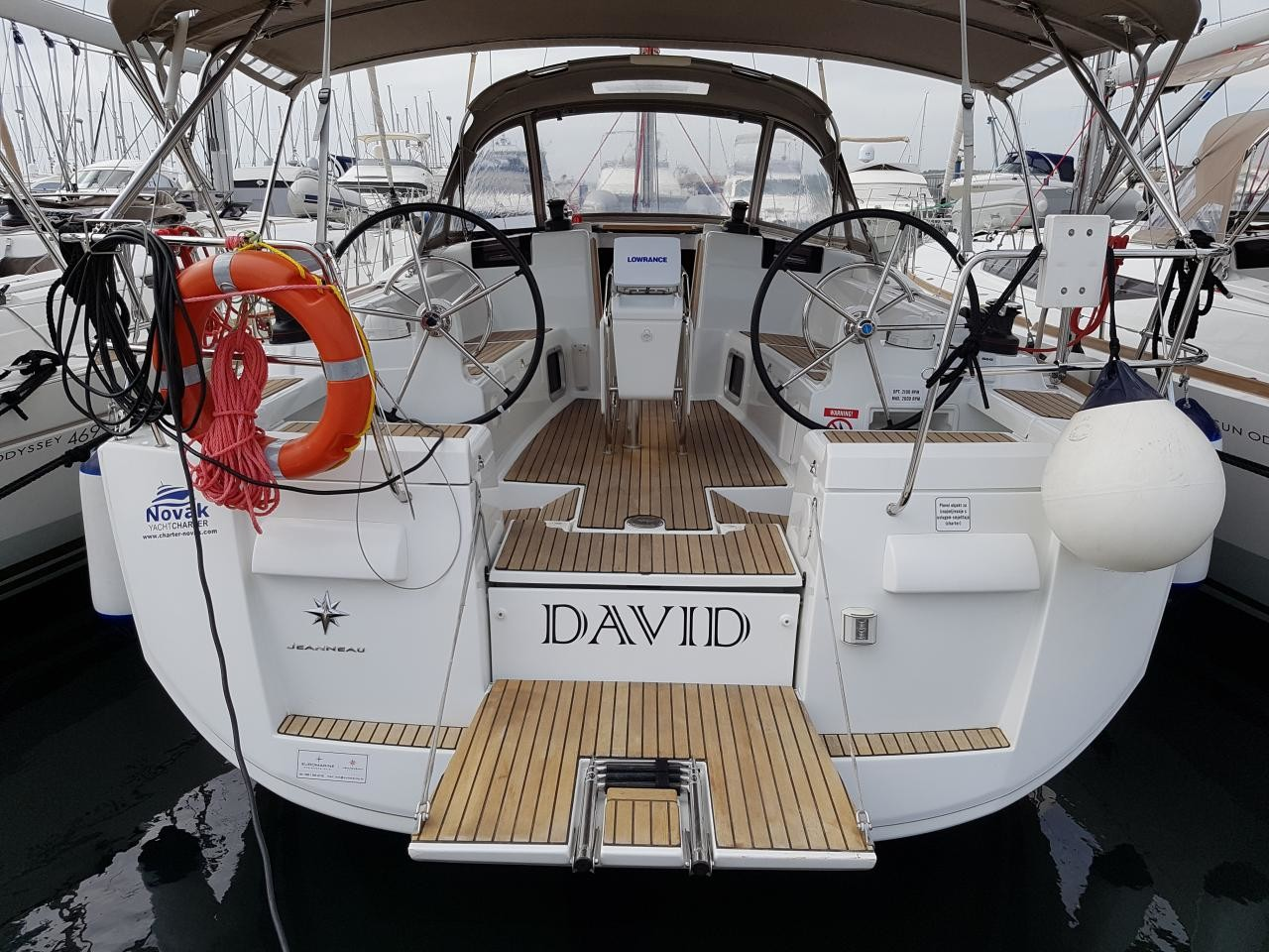 Sun Odyssey 409, David