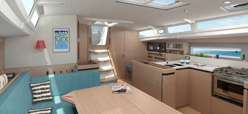 Sun Odyssey 490, DIONIZ with AC shore power